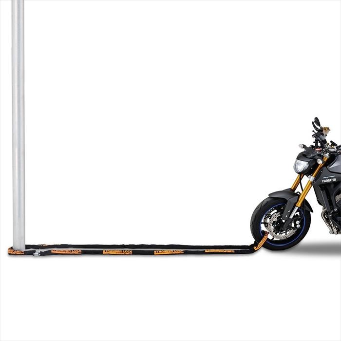 【4909449497418】【DAYTONA(デイトナ)】バイク用ストロンガーチェーンロック 6.0m ディスクロックにもなる 95002 【便利なロングタイプ】