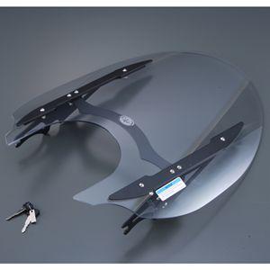 【ヤマハ純正】 ウインドシールド S(小型)、Mブラック XVS1300CU【Q5KYSK072R04】【YAMAHA】