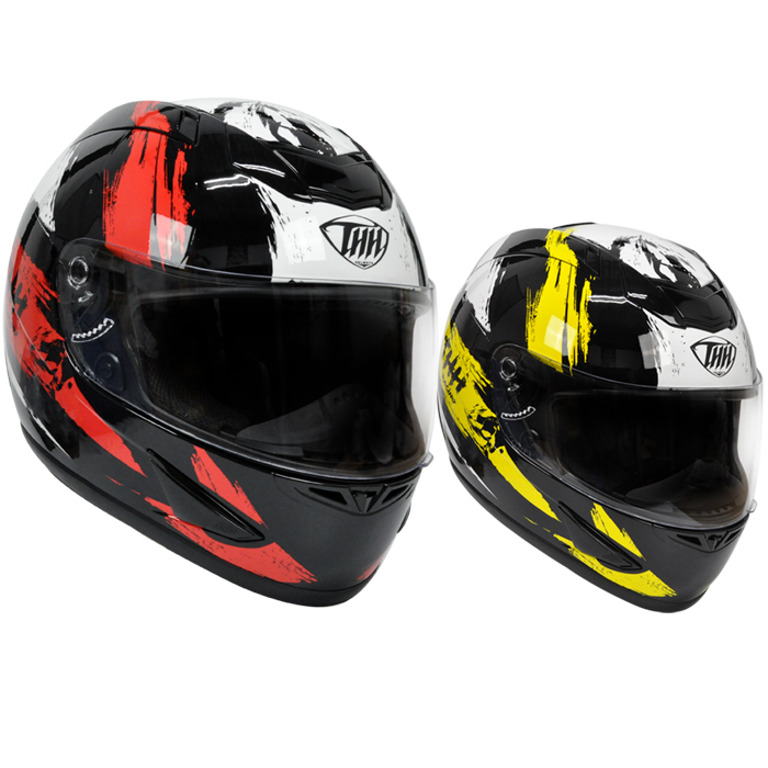 【THH】 フルフェイス ヘルメット [TS-41] Road Rage / ロードレイジ ピンロック対応【PSC SG規格認証・全排気量対応】 THH日本総代理店販売