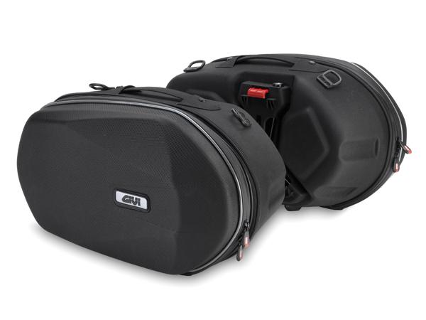 【送料無料】【デイトナ(DAYTONA)】 GIVI(ジビ) セミハードサイドバッグ 3D600 ELサイドバッグ 93806 【着脱式セミハードサイドバック】