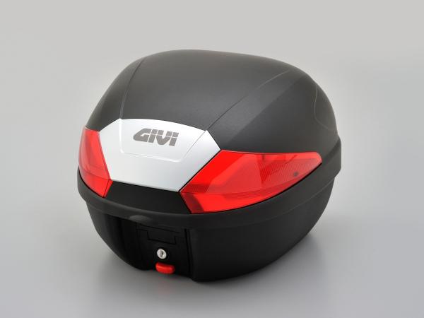 【GIVI(ジビ)】 GIVI B29N モノロックケース 1ボタン レッドレンズ 95938