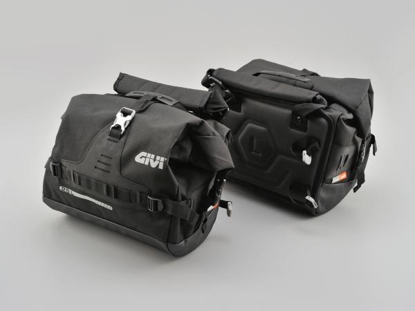 【4909449511565】【DAYTONA(デイトナ)】 GIVI 「Ultima-T」 UT808 防水サイドバッグ ブラック 96617 【アドベンチャー、エンデューロ、ツーリングスタイルのバイクを対象とした新しいバイクバッグ「Ultima-T」】