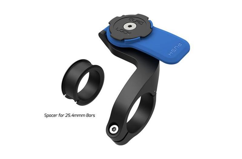 送料無料 22.0mm 25.4mm 31.8mm 35mm適合 クアッドロック QUAD 毎日続々入荷 待望 LOCK OUT アウトフロントマウントV2 9348943010931 FRONT MOUNT V2 自転車用
