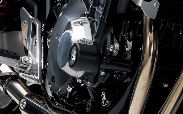 【ホンダ(HONDA)】 2018年モデル CB1300 スーパーボルドール/スーパーフォアー(SC54-2300001~)専用 エンジンガード スライダー 【ホンダ正規取扱店】