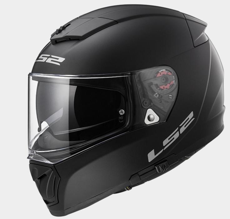 【LS2(エルエスツー)】 国内正規品 SG認定 フルフェイスヘルメット BREAKER(ブレーカー) マットブラック インナーバイザー付 ピンロックシート付 【質感、快適性価格のバランスを追求】