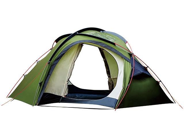 【送料無料】【OGAWA CAMPAL(小川キャンパル)】 ogawa(オガワ) テント ドーム型 ホズ(HOZ)2604 2人用 ダークグリーン キャンプ ツーリングに 【ゆとりある前後室と天井に透明パネルで寝ながら星空を】