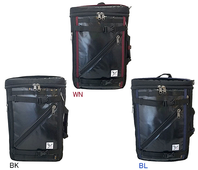 【送料無料】【FIRE FIRST(ファイヤーファースト)】 FFカーボン柄コーデュラ 3WAYバッグ ビジネスバッグ、リュック、ショルダー 【軽量で耐水性のあるコーデュラ素材】