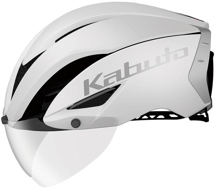 【送料無料】【OGK KABUTO】 AERO-R1 エアロ・R1 マットホワイト-1(S/M)、マットホワイト-1(L/XL) 自転車用 サイクルヘルメット スポーツヘルメット JCF(公財)日本自転車競技連盟公認 A.I.ネット、ノーマルインナーパッドセット(7mm厚)、AR-3シールド付属 瞬間消臭