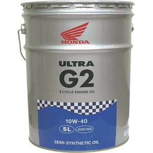 【ホンダ純正】 4サイクルオイル ウルトラG2 20リットル 10W-30【 08233-99977 】【Honda】