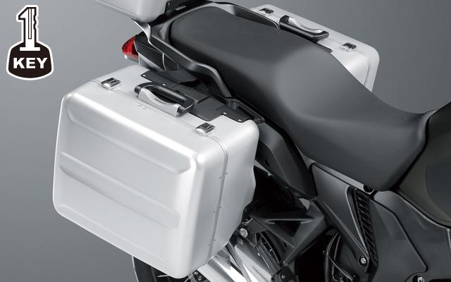 【送料無料】【ホンダ純正】 VFR1200X パニアケース:ワン・キー・システムタイプ 【 08L70-MGH-N00、08L70-MGH-N01 】 【HONDA】