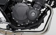 【ホンダ純正】 CB400 SUPER FOUR / CB400 SUPER BOL D'OR エンジンガード ブラック 【08P71-MFM-C00】 【HONDA】