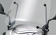 2018年モデル対応【ホンダ純正】 ウインドシールド リード125 JF45 【 08R70-K12-910 】【Honda】