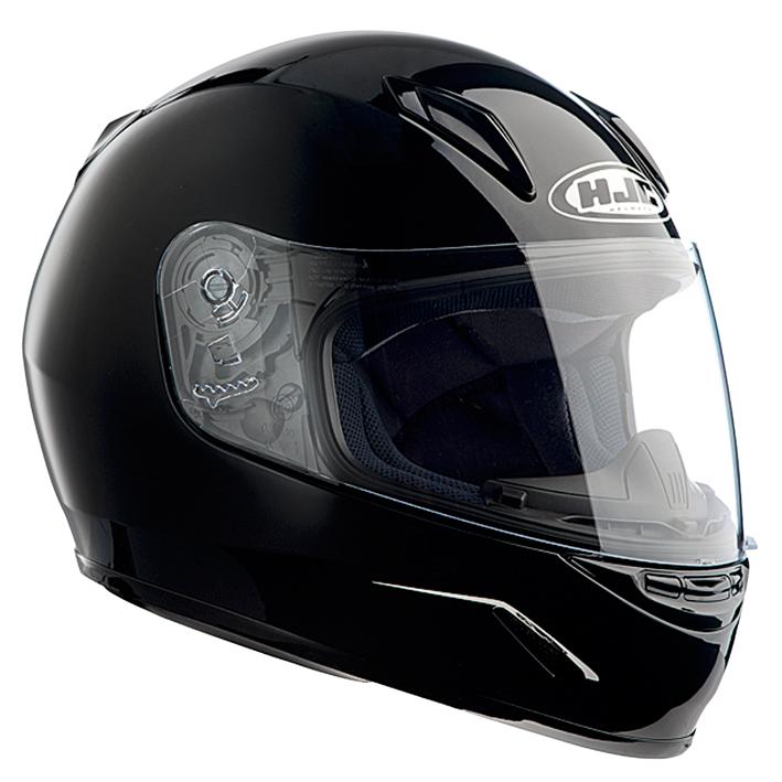 【送料無料】【HJC(エイチジェイシー)】 ブラック Lサイズ(53-54cm) CL-Y HJH057 ブレスガード付属  バイクヘルメット フルフェイス【4997035609772】