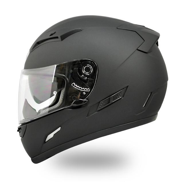 【THH】 インナーサンバイザー装備 フルフェイスヘルメット TS-80 マットブラック PINLOCK対応シールド装備 全排気量対応 【thh-ts80-mk】