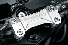 【送料無料】【ホンダ純正】 【無限】 ハンドルホルダー CB1300 【0SK-ZX-MEJYK05】 MUGEN Handle Holder 【HONDA】 CB1300 SUPER FOUR / SUPER BOLD'OR