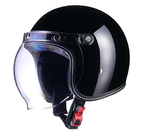 【LEAD(リード工業)】Murrey MR-70 ジェットヘルメット/ブラック(M/Lサイズ) 【MR70-MBK】