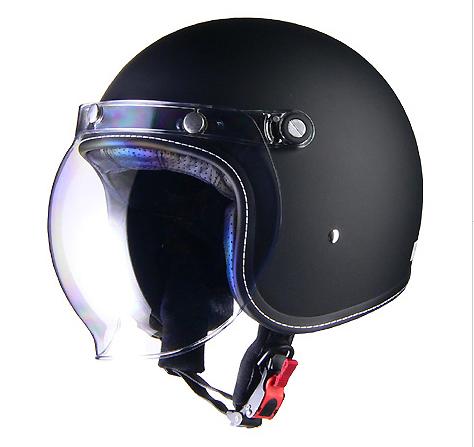 【送料無料】【LEAD(リード工業)】Murrey MR-70 ジェットヘルメット/マットブラック(M/Lサイズ) 【MR70-MBK】