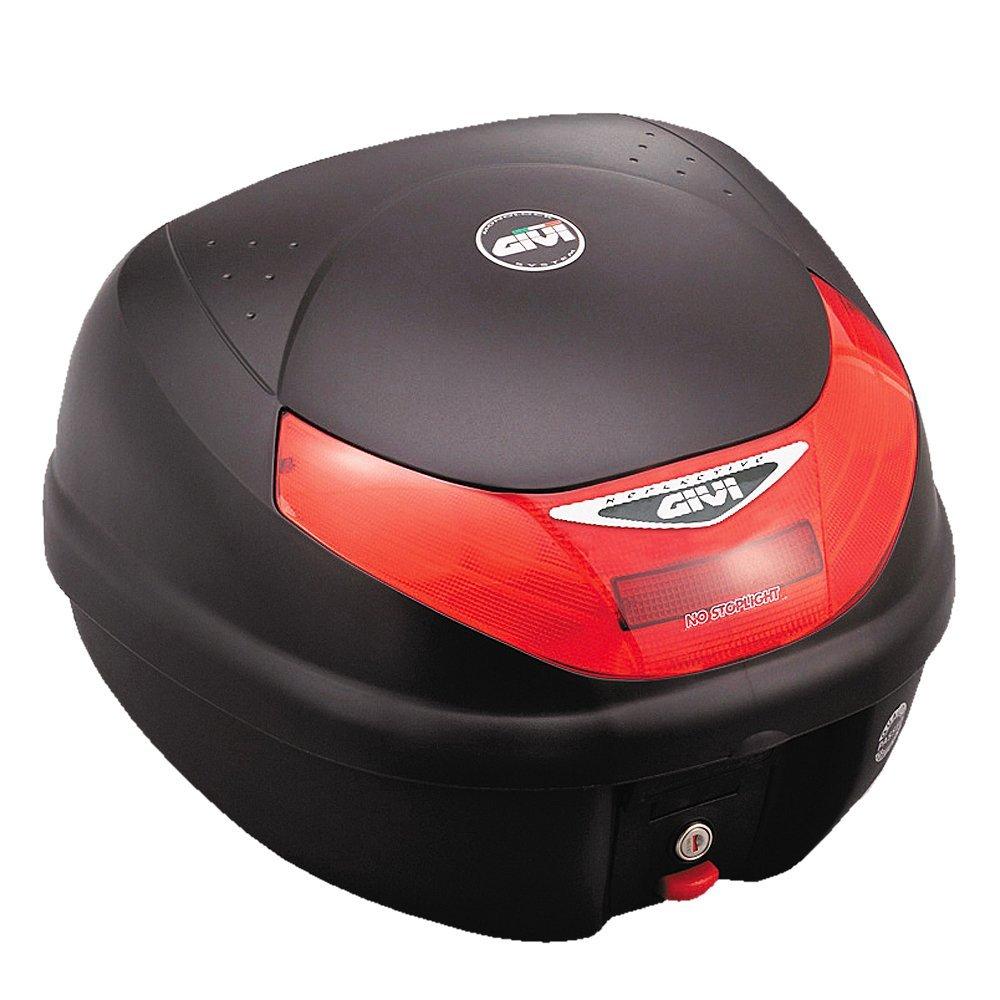 【GIVI(ジビ) 】 モノロックケース(トップケース) 未塗装ブラック E30TN 68412 汎用【カブや各種スクーターに】