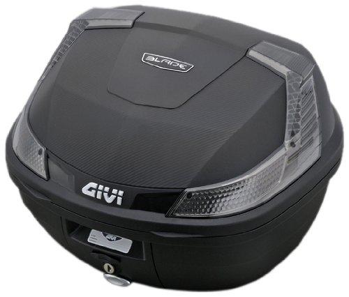 【送料無料】【GIVI(ジビ) 】 B37シリーズ(無塗装ブラック)トップケース B37NTD  TECHスモークレンズ ジビ PCX等に PCX125(JF56)・PCX150(KF18)【】