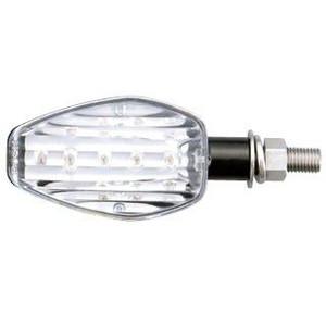 【送料無料】【ポッシュ】 LEDウインカーキット ブラックボディ-/クリアーレンズ CBR250R/CB250F【0sszi05705206】