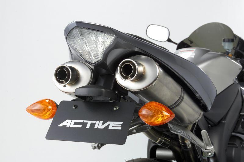【ACTIVE (アクティブ)】 フェンダーレスキット ブラック [LEDナンバー灯付き]  1513037 YZF-R1【ACT1153037】