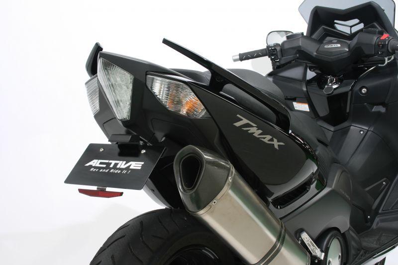【ACTIVE (アクティブ)】 フェンダーレスキット ブラック [LEDナンバー灯付き]  1153040 T MAX530【ACT1153040】