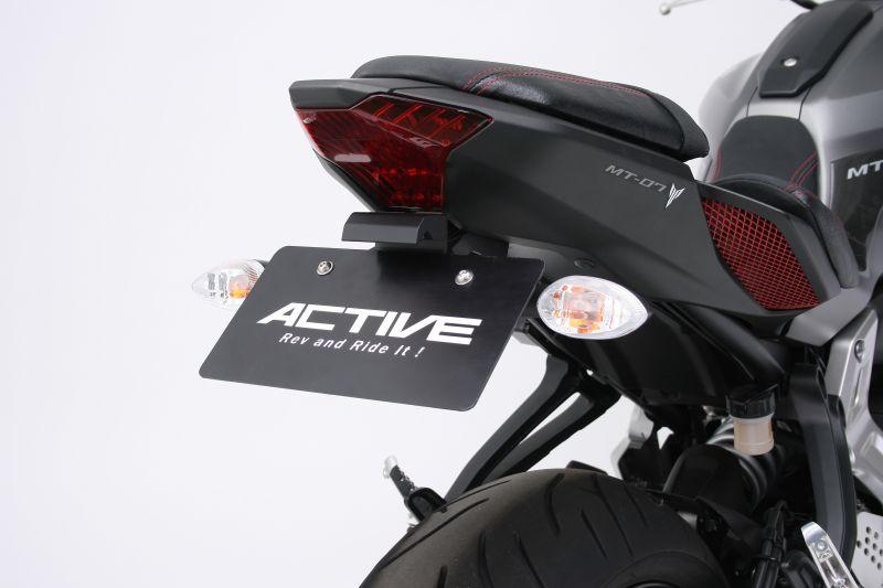 【ACTIVE (アクティブ)】 フェンダーレスキット ブラック [LEDナンバー灯付き]  1153056 MT-07/ABS【ACT1153056】
