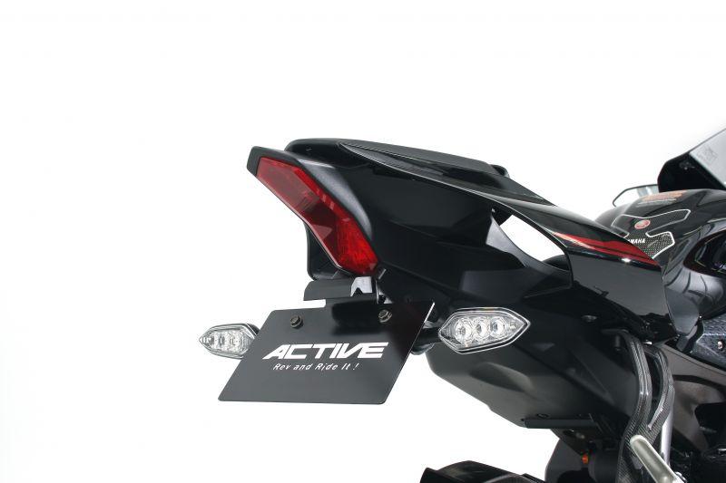 【送料無料】【ACTIVE (アクティブ)】 フェンダーレスキット ブラック [LEDナンバー灯付き]  1153060 YZF-R1(ABS)/YZF-R1M 【ACT1153060】