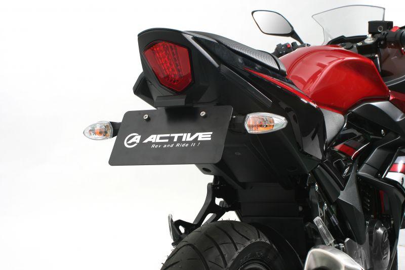 【送料無料】【ACTIVE (アクティブ)】 フェンダーレスキット ブラック [LEDナンバー灯付き] 1155039 GSX250R【ACT1155039】