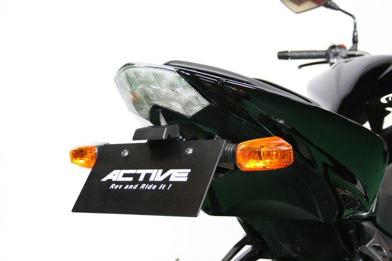 【送料無料】【ACTIVE (アクティブ)】 フェンダーレスキット ブラック [LEDナンバー灯付き] 1157055 Z1000 / Z750【ACT1157055】