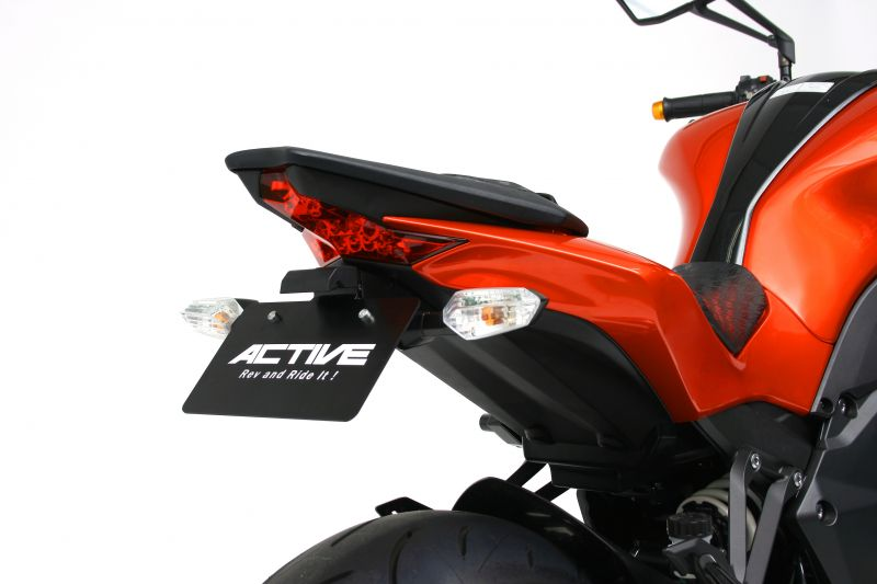【4538792868585】【ACTIVE(アクティブ)】品番変更1157088 フェンダーレスキット ブラック [LEDナンバー灯付き] 1157080 Z1000 / ABS【ACT1157080】
