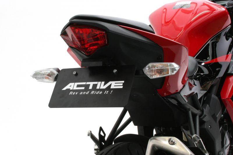 【ACTIVE (アクティブ)】 フェンダーレスキット ブラック [LEDナンバー灯付き] 1157081 Ninja250SL / Z250SL 【ACT1157081】