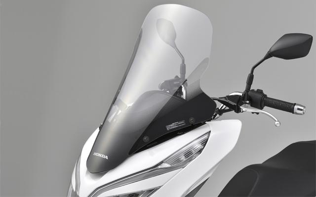 【送料無料】【ホンダ純正】 新型PCX 2018年モデル用 ボディマウントシールド 純正アクセサリー 18YM JF81/KF30【08R70K96J00】