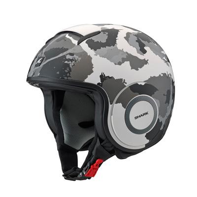 【ヤマハ純正】 【12月下旬発売予定】 SHARK ヘルメット ダラク クオーツカモ 3サイズ 【日本初上陸SHARK ヘルメット】