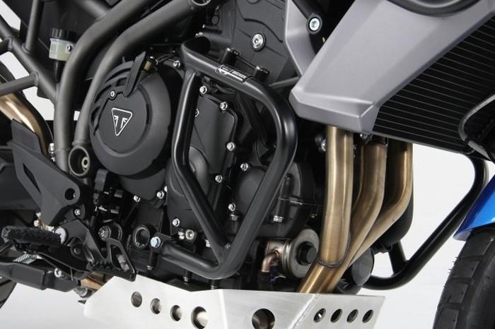 【ヘプコアンドベッカー(HEPCO&BECKER)】 エンジンガード ブラック Tiger 800XC/XCX 15-17 適応:タイガー 800XC/XCX 15-17 【5017535-0001】 【ガード類/関連パーツ】