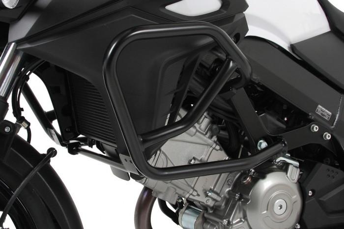 【ヘプコアンドベッカー(HEPCO&BECKER)】 エンジンガード ブラック V-Strom650/XT ABS 12-17 適応:V-ストローム 650/XT ABS 12-17 【502309-0001】 【ガード類/関連パーツ】