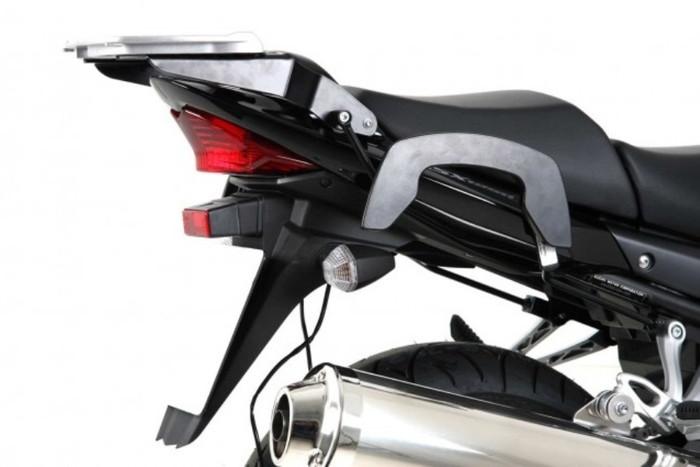 【4548664794959】【ヘプコアンドベッカー】 サイドバッグステー C-Bow(シーボウ) ブラック GSX1250A/FA 10-17 適応:GSX1250A/FA 10-17 【6303523】 【キャリア/関連パーツ】