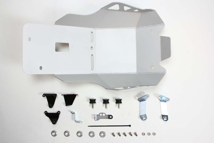 【送料無料】【PLOT(プロト)】 アンダーガード PUG181S PLOT アンダーガード サンドブラストシルバー 適応車種:NC700X、S 12-13、750X、S 14-17 【バイクカスタムパーツ 適応車両 NC700X、S 12-13、750X、S 14-17】