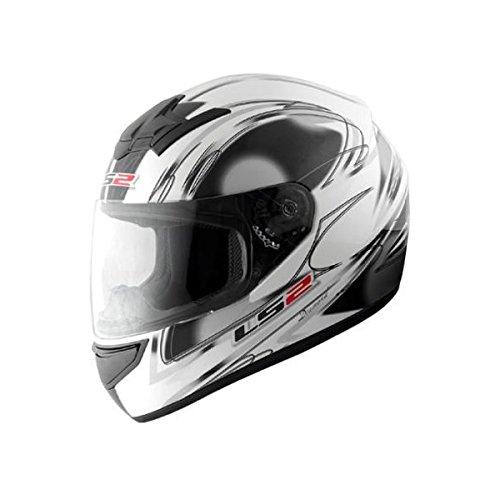 【送料無料】【LS2】 ブラスト (BLAST) ダイヤモンドホワイト フルフェイスヘルメット UVカットシールド・バイザー標準装備 【SG規格取得・MFJ公認】