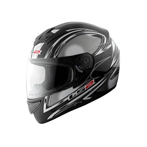【送料無料】【LS2】 ブラスト (BLAST) ダイヤモンドブラック フルフェイスヘルメット UVカットシールド・バイザー標準装備 【SG規格取得・MFJ公認】
