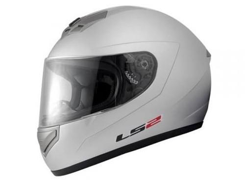 【LS2】 マーズ (MARS) シルバー フルフェイスヘルメット UVカットシールド・バイザー標準装備 【SG規格取得・公道走行可】