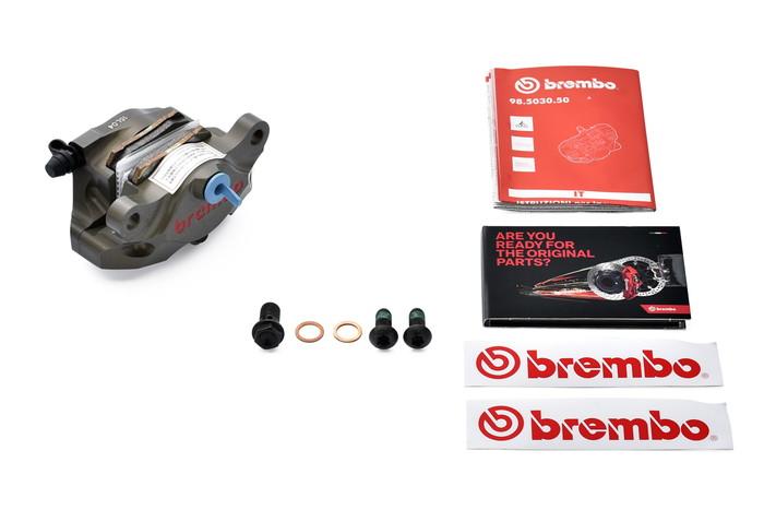 【ブレンボ(Brembo)】 HP 2P CNCリアキャリパー 84mm 【120.A441.10】 【キャリパー/サポート/関連パーツ】