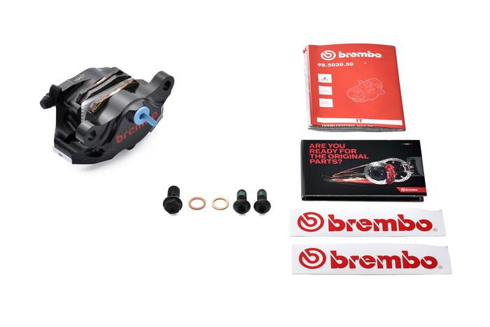 【ブレンボ(Brembo)】 HP 2Pキャリパーキット削 84mm ブラックアルマイト 【120.A441.30】 【キャリパー/サポート/関連パーツ】