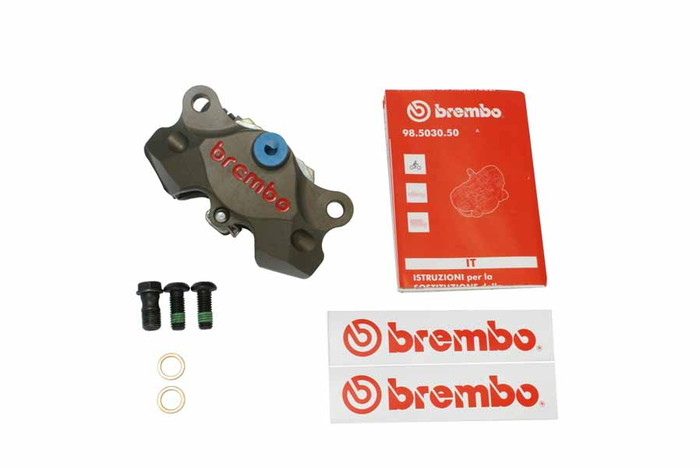 【ブレンボ(Brembo)】 HP 2Pキャリパーキット削 84mm ニッケルコート 【120.A441.40】 【キャリパー/サポート/関連パーツ】