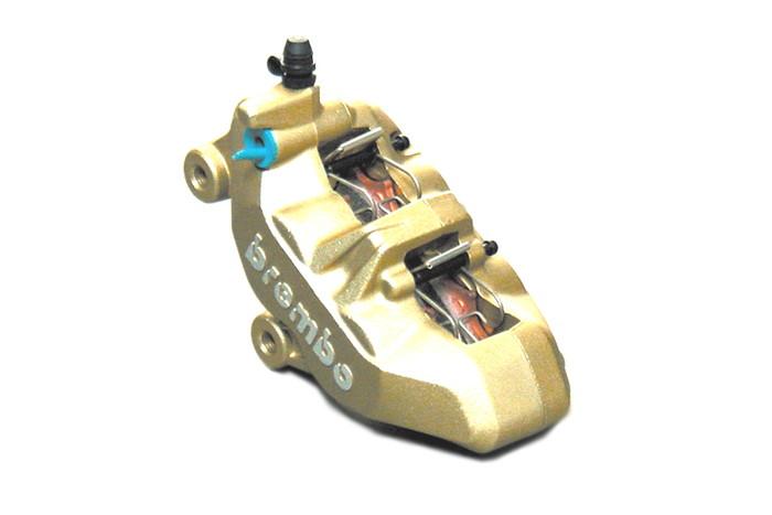 【ブレンボ(Brembo)】 4Pキャリパー GLD 左 65mmピッチ/4PAD 【20.7850.11】 【キャリパー/サポート/関連パーツ】