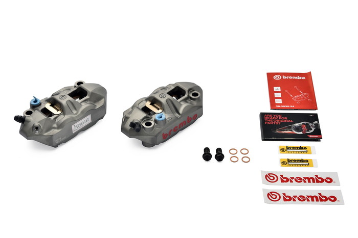 【ブレンボ(Brembo)】 ブレンボ HP 4Pキャリパーセット モノブロック ラジアル 108mm 【220.A397.10】 【キャリパー/サポート/関連パーツ】