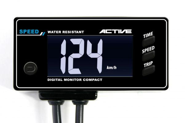 【4538792756950】【アクティブ(ACTIVE)】 デジタルモニター コンパクト スピード 速度計  12V車用【ACT1080106】