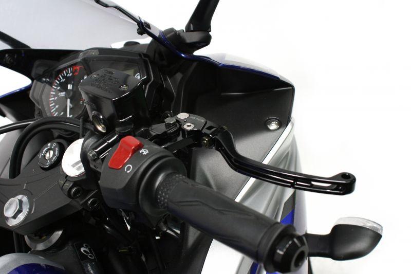 【ACTIVE (アクティブ)】 ビレットレバー RS2タイプ [ブレーキ] ブラック YZF/MT用【ハンドル回り カスタムパーツ】