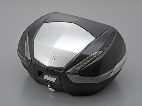 【4909449463598】【送料無料】【DAYTONA(デイトナ)】 GIVI 【V47N】 未塗装ブラック/アルミパネル/スモーク 47L リアボックス 【モノキーベース用】