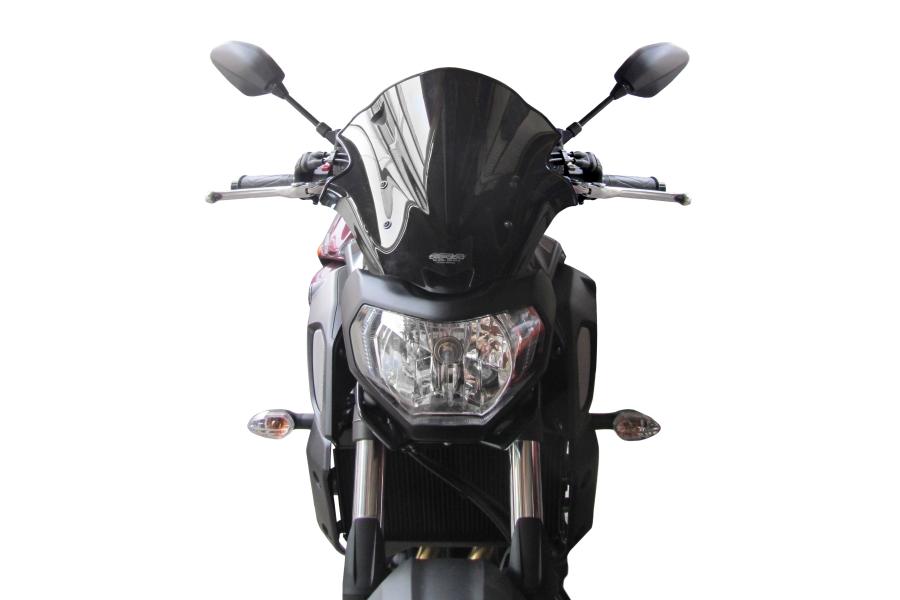 【エムアールエー(MRA)】 スクリーンレーシング ブラック MT-07 18年用 レーシングタイプ